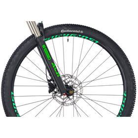 "Ghost Hybride Teru B 4.9 AL 29"" jet black/urban gray/riot green"
